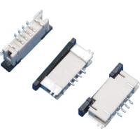 1.0mm Pitch FPC Connector 4Pins Board to Board Connector Under Lock SMT Type Manufactures