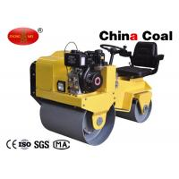 China 7.0HP power 0.5mm Nominal amplitude diesel vibration compactor roller on sale