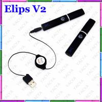 450mah Elips Clearomizer Elips V2 Elips E Cigarette With e Cig Kits , No Ignition Manufactures