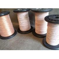 0.1 - 1.0 mm Super Fine Litz Magnet Wire , Copper Litz Wire For Inductive Heating