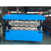 Roofing Double Layer Roll Forming Machine 40GP Container By Chain Manufactures