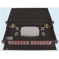 "Rack Type Fiber Optic Termination1U 19"" For Patch Panel Metal SC FC ST E2000 LC MU Connectors"