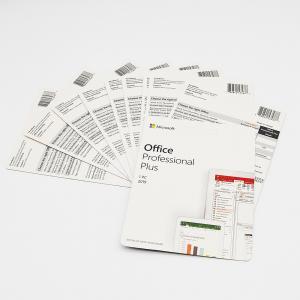 Paper 1PC Microsoft Office Pro Plus Card 15x11x2cm Manufactures