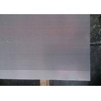 China 1.0 Millimeter Micro Hole Steel Perforated Metal Sheet for Acoustic Wall Panels on sale