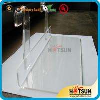 Lucite shoe racks for sale, shoe store retail acrylic display rack, clear shoe racks for store Manufactures