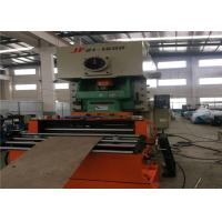 Hydraulic Cutting Sheet Roll Forming Machine , 16row Rollers Sheet Bending Machine