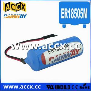 China 3.6V ER18505M Lithium Thionyl Chloride Battery (er14250mer14335m er14505m er26500m er3461m on sale