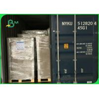 70*100cm Grey Chipboard For Packaging Boxes , Grade AA 2.2mm 2.25mm Paper Board Manufactures