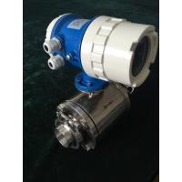 Full Sanitary Steel IP68 Electromagnetic Flow Meter Clamp Type Manufactures
