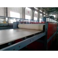WPC Foam Board Extrusion Line Plastic Extrusion Lines For PP / PE / PVC Manufactures