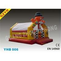 Customized 0.55mm PVC Clown Open Party Inflatable Jumpers Bouncers House YHB-006