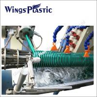 Plastic PVC Spiral Reinforced Helix Suction Pipe Making Machine / Extrusion Line Manufactures