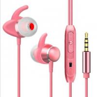 China In Ear Headphones Dual-air Chamber Sweatproof with Microphone for Workout Sports on sale