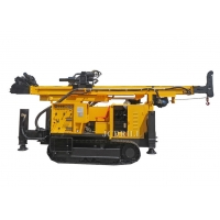 200m Environmental Protection Crawler RC Dth Drilling Rig Manufactures