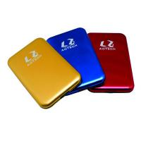 portable 2.5inch sata hard disk drive case for 12.5mm hdd/9.5mm hdd/7mm hdd Manufactures