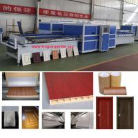 Wood Mdf Board Making Machine Vacuum Press Laminating Machine Manufactures
