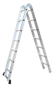 Ce Foldable Aluminium 2X7 Joint Step Ladder Manufactures