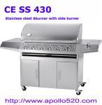 6-burner SS BBQ Manufactures