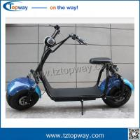 China double airbag rear shock absorber 2 wheels Electric Motorcycles citycoco scooter on sale