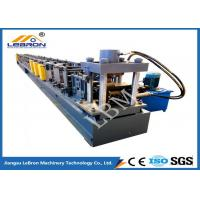 PLC Control Automatic Storage Rack Roll Forming Machine Durable Long Service Time Manufactures