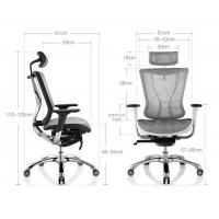 Mesh Back Ergonomic Conference Room Chairs , High Back Conference Chair Manufactures