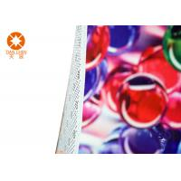 Max Width 3.2m Printed Felt Sheets 100% Polyester With PVC Dotted Nonwoven Manufactures