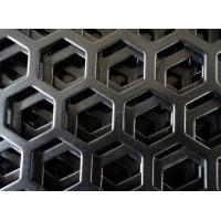 Cheap Customize mirror finish honeycomb perforated stainless steel sheets with  1219mm width for sale