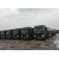 Oil Transport Vehicle Fuel Oil Delivery Truck  Mobile Station 25 - 30 CBM Euro 2 Manufactures