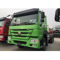 Dropside Cargo Truck Chassis SINOTRUK HOWO ZZ1257N4341W Green Lorry Vehicle Manufactures