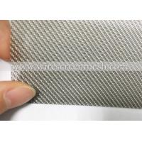 Twill Weave Stainless Steel Wire Mesh  Acid Alkali Resistance For Industrial Filtration