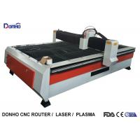 Heavy Duty Structure CNC Plasma Cutting Machine With Chuangwei Stepper Motor Manufactures