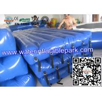 Beach Inflatable Water Park Play Mat / PVC Inflatable Floating Water Mattress Manufactures