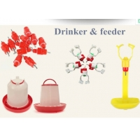 360 Degree Automatic Chicken Water Nipple Drinker Feeders Manufactures