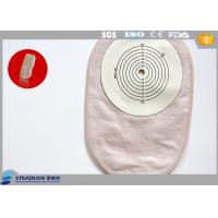 One Piece Temporary Colostomy Bag With 70mm Max Cut , PE Base Plate Materials Manufactures