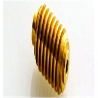 Zn - Plating Surface Copper Bevel Pinion Gear For Step Motor Manufactures