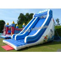Buy cheap 21 Feet High Giant Wave Inflatable Blow Up Water Slide With 3 Years Gurantee from wholesalers