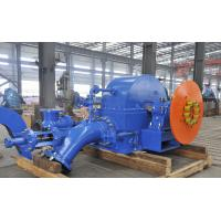 Small Turbine Generator Small Pelton Turbine For Hydro Power Station Switchyard Manufactures