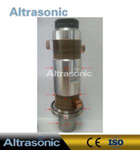 Buy cheap High Power Piezoelectric Ultrasonic Welding Transducer 6000w 20Khz 8pcs Ceramics from wholesalers