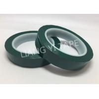 Flame Retardant Green Polyester Mylar Tape Pressure Adhesive Type Manufactures