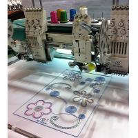 Garment Multi-Head Embroidery Machine with Sequin Device / Rope Embroidering Manufactures