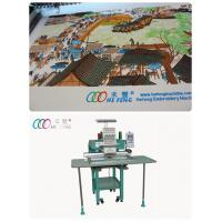 Clothing small 1 Head Industrial Embroidery machine , High Speed Embroidery Machine Manufactures