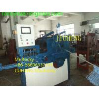 China Plastic Coated Wire Hanger Making Machine on sale