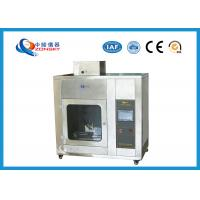 IEC 60695 Stainless Steel Needle Flame Testing Equipment / Pin Flame Test Chamber Manufactures
