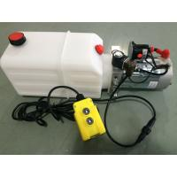 DC 12V Motor Horizontal Single Acting  Mini Hydraulic Power Packs for Dump Trailer Manufactures