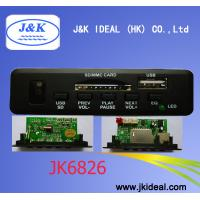 JK6826 USB SD AUX mp3 module for speaker Manufactures