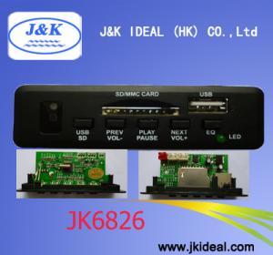 Cheap Brasil USB host SD MP3 kit JK6826 for sale