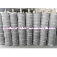 """Quality Flat/Crimped Stainless Steel 321 Knitted Wire Mesh 30 """" / 42 """" And Wire Diameter for sale"""
