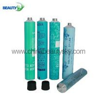 60ml Salon professional hair color Packing Empty Aluminum Tubes HS code 761210 Manufactures