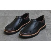 Cheap Full Grain Leather Casual Shoes Soft Comfortable Driving Shoes LSPK091 for Men for sale
