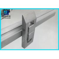 Double Tracks Scalable conveyor Aluminum Tubing Joints Prevent Flow Back Lock Opposite Movement Manufactures